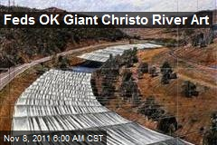Feds OK Giant Christo River Art