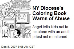 NY Diocese's Coloring Book Warns of Abuse