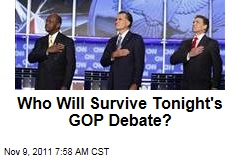 Republican Presidential Debate: Who Will Survive?