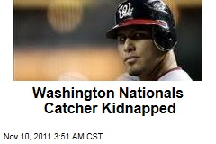 Washington Nationals Catcher Wilson Ramos Kidnapped in Venezuela