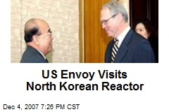 US Envoy Visits North Korean Reactor