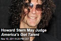 Howard Stern May Join America's Got Talent as Judge: Reports