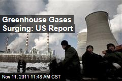 NOAA: Greenhouse Gases Surging