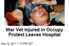 Scott Olsen, Vet Injured in Occupy Oakland Protest, Leaves Hospital