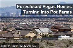 Foreclosed Vegas Homes Turning Into Pot Farms