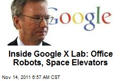 Inside Google X Lab: Office Robots, Space Elevators