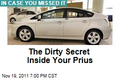 Inside Your Prius: Environmentally Dangerous Rare Earth Minerals