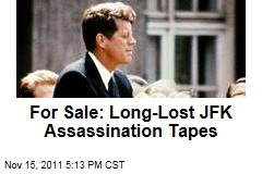 John F. Kennedy Assassination Tapes from Air Force On Sale for $500,000