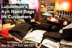 Lululemon's Ayn Rand Bags Confuse Customers