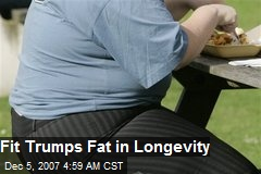 Fit Trumps Fat in Longevity