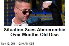 'Jersey Shore' Star The Situation Sues Abercrombie & Fitch Over Months-Old Diss
