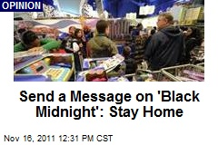 Send a Message on 'Black Midnight': Stay Home
