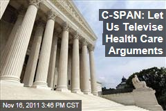 C-SPAN Asks Supreme Court to Allow Cameras in for Health Care Arguments