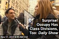 'Daily Show,' Samantha Bee Reveal Occupy Wall Street's Class Divisions