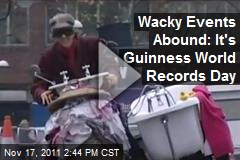 Wacky Events Abound: It's Guinness World Records Day