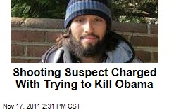 White House Shooting Suspect Oscar Ramiro Ortega-Hernandez Charged With Attempted Assassination of President Obama