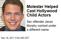 Hollywood Casting Assistant Jason James Murphy Found to Be Sex Offender