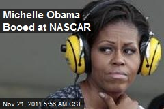 Michelle Obama Booed at NASCAR