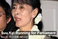Aung San Suu Kyi Running for Parliament in Burma