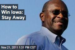 Election 2012: For Newt Gingrich and Herman Cain, Not Going to Iowa, New Hampshire Is Working