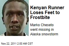 Kenyan Runner Marko Cheseto Loses Feet to Frostbite