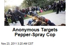 Pepper-Spray Cop John Pike Targeted by Anonymous