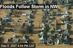 Floods Follow Storm in NW