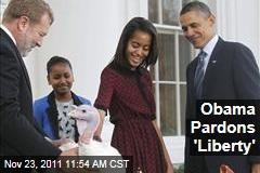 President Obama to Pardon Turkeys 'Liberty,' 'Peace' for Thanksgiving