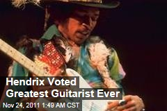 Jimi Hendrix Tops Greatest 100 Guitarists of All Time List