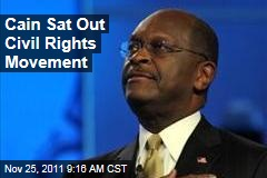 Herman Cain Largely Ignored Civil Rights Movement as Student at Morehouse