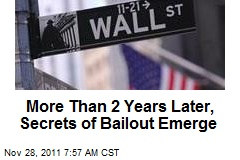 More Than 2 Years Later, Secrets of Bailout Emerge