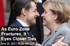 Euro Zone Debt Crisis: Leaders Weigh Closer Ties