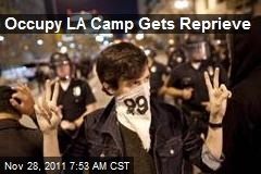 Occupy LA Camp Gets Reprieve