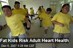 Fat Kids Risk Adult Heart Health