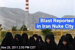 Iranian Nuclear City Isfahan Has Blast Reported