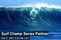 Surf Champ Saves Partner