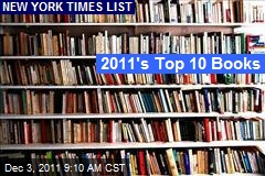2011's Top 10 Books