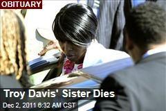 Troy Davis' Sister, Martina Davis-Correia, Dies
