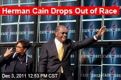 Herman Cain Is Suspending His Campaign