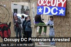 Occupy DC Protesters Arrested