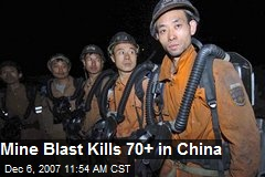 Mine Blast Kills 70+ in China