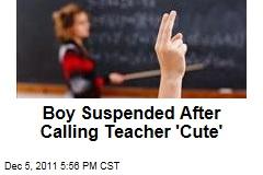 North Carolina School Suspends Student for Calling Teacher 'Cute'