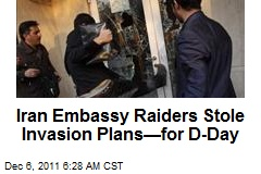 Iran Embassy Raiders Stole Invasion Plans —for D-Day