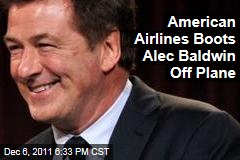 American Airlines Pilot Kicks Alec Baldwin Off Plane After Confrontation Over Cell Phone Game