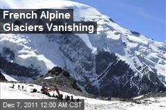French Alpine Glaciers Vanishing