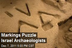 Markings Puzzle Israel Archaeologists