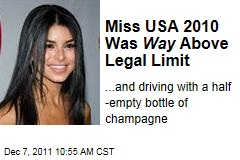 Rima Fakih DUI: Ex-Miss USA Was Way Above Legal Limit, and Driving With an Open Bottle of Champagne: Police Report