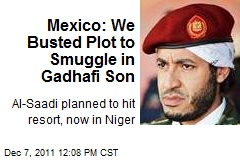 Mexico: We Busted Plot to Smuggle in Gadhafi Son