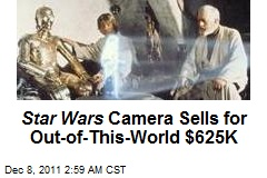 Star Wars Camera Sells for Out-of-This-World $625K