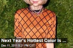 Hottest Color of 2012 Is Orange, From Dishware to Dresses